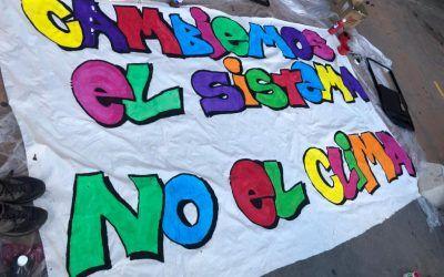 CAMBIEMOS EL SISTEMA, NO EL CLIMA